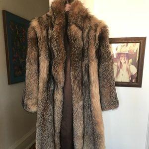 Fur coat- crystal fox